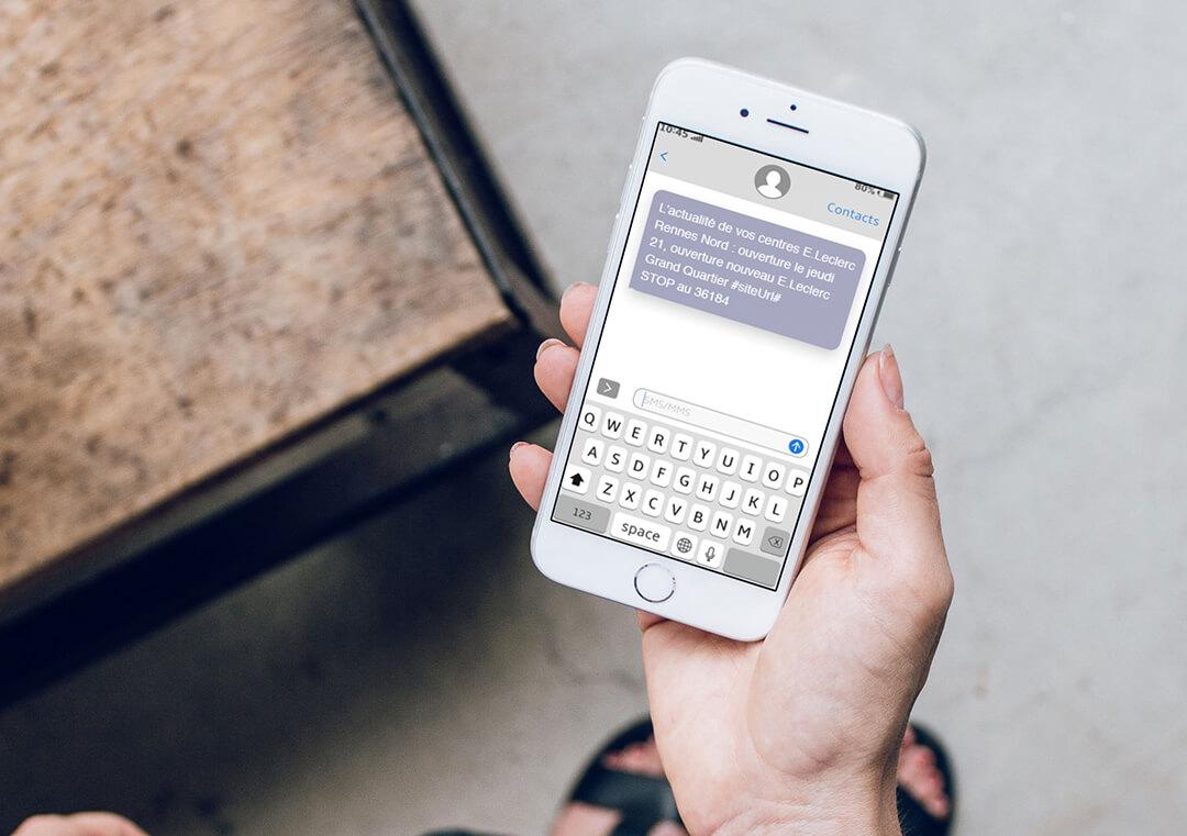sms martphone